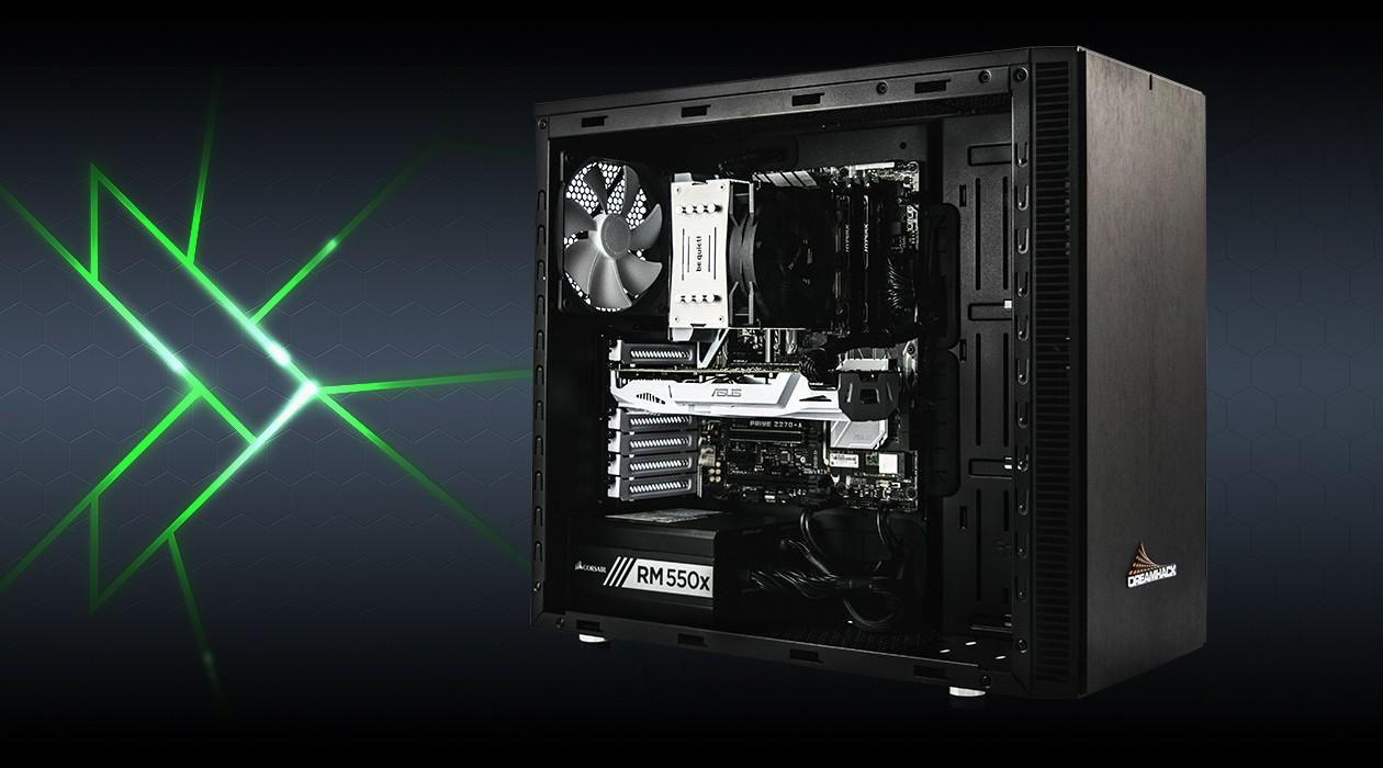 DreamHack PC – de bästa spelarna förtjänar de bästa komponenterna