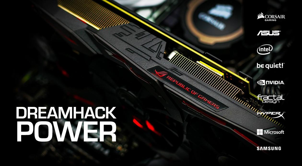 Dreamhack PC – gaming har aldrig varit bättre