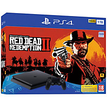 PS4 1TB SLIM INCL. RED DEAD REDEMPTION 2