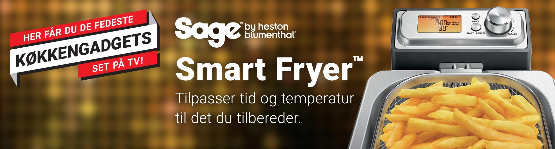 The Smart Fryer - Perfekte dobbeltstegte pommes frites!