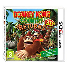 3DS-DONKEY KONG COUNTRY RETURNS