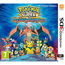 3DS-Pokémon Super Mystery Dung