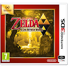 3DS-THE LEGEND OF ZELDA A LINK