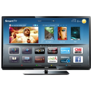 "Philips 47"" LED Smart-TV 47PFL4047T"