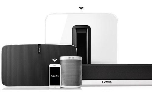 Sonos! Tusenvis av radiokanaler