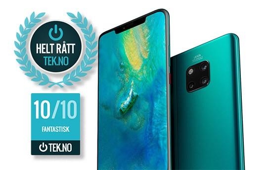Huawei Mate 20 Pro - Helt rå mobiltelefon