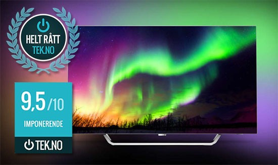 Philips 65OLED873 TV med Ambilight. Best i test
