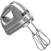 KITCHEN AID HAND MIXER 85 W SILVER
