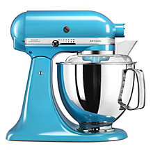 KITCHENAID 4.8L KITCHEN MACHINE CRYSTAL BLUE