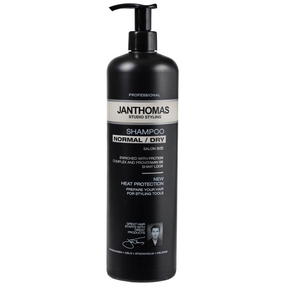 Varmebeskyttende shampoo fra Jan Thomas til normalt/tørt hår