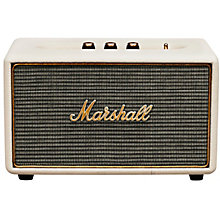 Marshall Acton Bluetooth-højttaler - cream