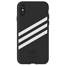 Adidas OR case iPhone X/XS Black/White