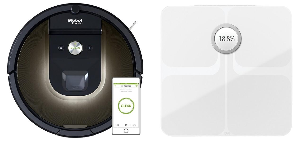 Kjøp smartprodukter som robotstøvsuger og smartvekt