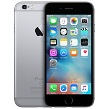 iPhone 6s 128 GB - sort