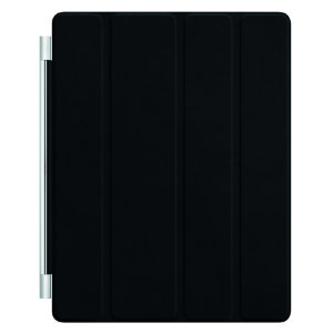 iPad Smart Cover (Sort Læder)