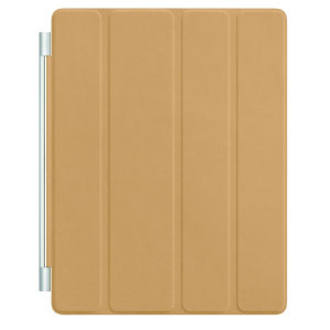 Apple iPad Smart Cover (gyllenbrun, lær)