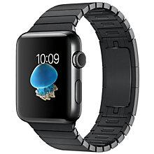 Apple Watch2, 42 Space Black St Steel Black Link B