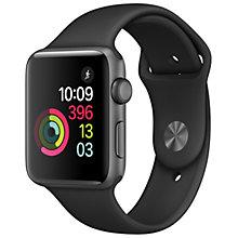 Apple Watch 2 42 Space Grey Alu Black Sport Band