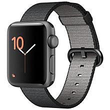 Apple Watch2 , 38 Space Grey Alm BlackWoven Nylon