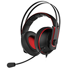 Asus Cerberus v2 gaming headset (rød)