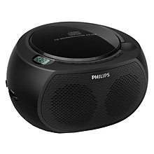 PHILIPS CD RADIO BLACK