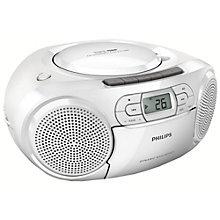 PHILIPS CD RADIO WHITE