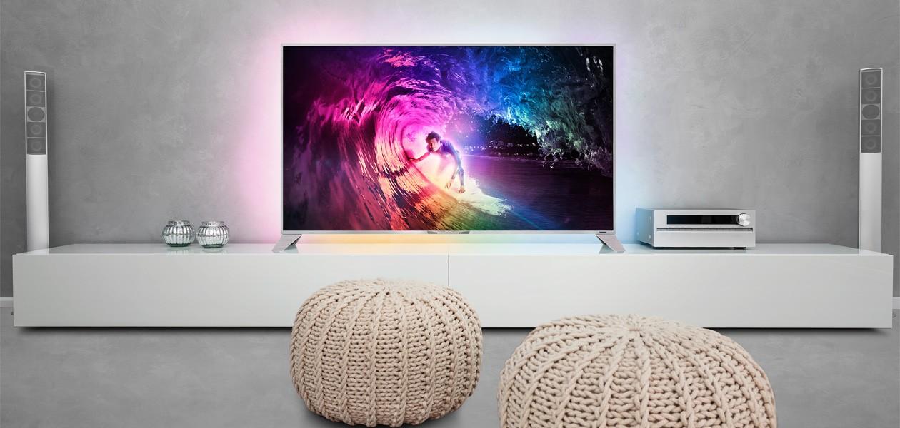 Fladskærms TV