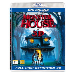 Monsterhouse-Monsteritalo (3D Blu-ray)