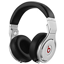 BEATS HEADPHONES PRO BLACK SILVER