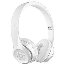 Beats Solo3 WL On-Ear HP - Gloss White