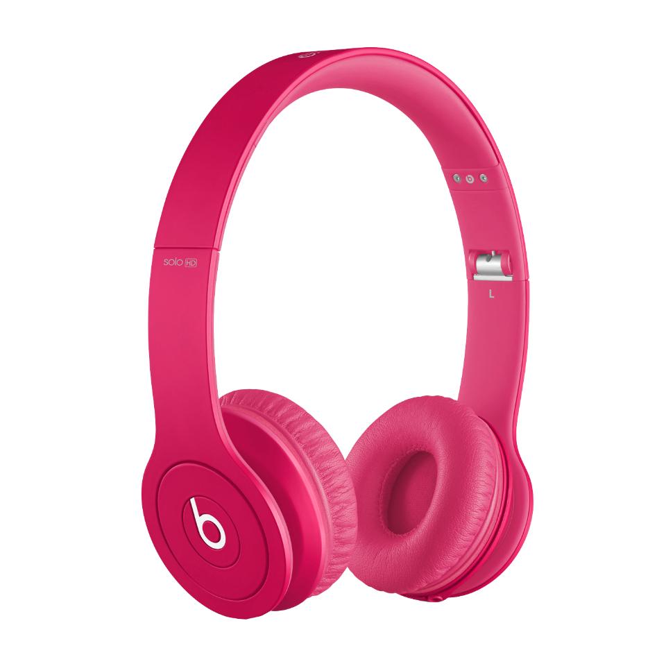 Beats by Dr.Dre SoloHD hodetelefoner (rosa ensfarget)