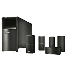 Bose Acoustimass 10 V højttalersystem - sort