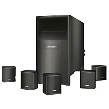 Bose Acoustimass 6 V højttalersystem - sort