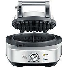 SAGE WAFFLE IRON SINGLE 1000W STAINLESS STEEL