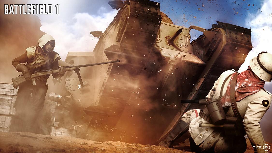 Krig på slagmarker over hele verden i Battlefield 1