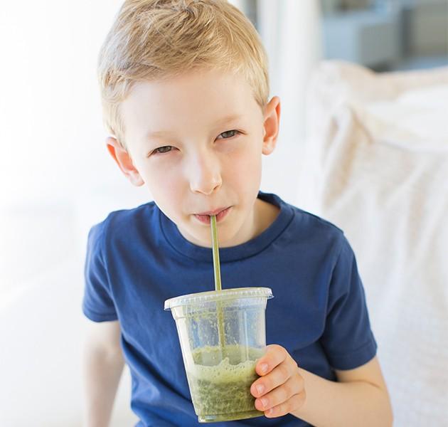 Lag lekre smoothies til barna