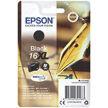 Epson DuraBrite Ultra 16XL blækpatron - sort