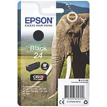 EPSON 24 black ink BLISTER