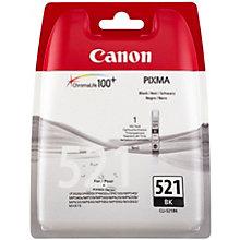 Canon CLI-521BK blækpatron - sort