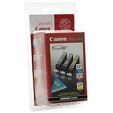 Canon CLI-521VAL værdipakke med blækpatroner