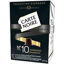 CARTE NOIR ESPRESSO INT. NO 10 EXCELLENCE