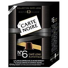 CARTE NOIR ESPRESSO INT. NO 6 CAFE LONG