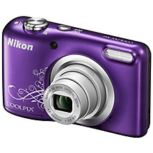 NIKON COOLPIX A10 PURPLE BATTE