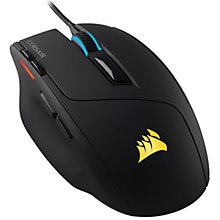 CORSAIR SABRA 2016 RGB OPTICAL BLACK GAMING MOUSE