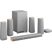 PHILIPS HOME CINEMA SYSTEM 5.1 SILVER