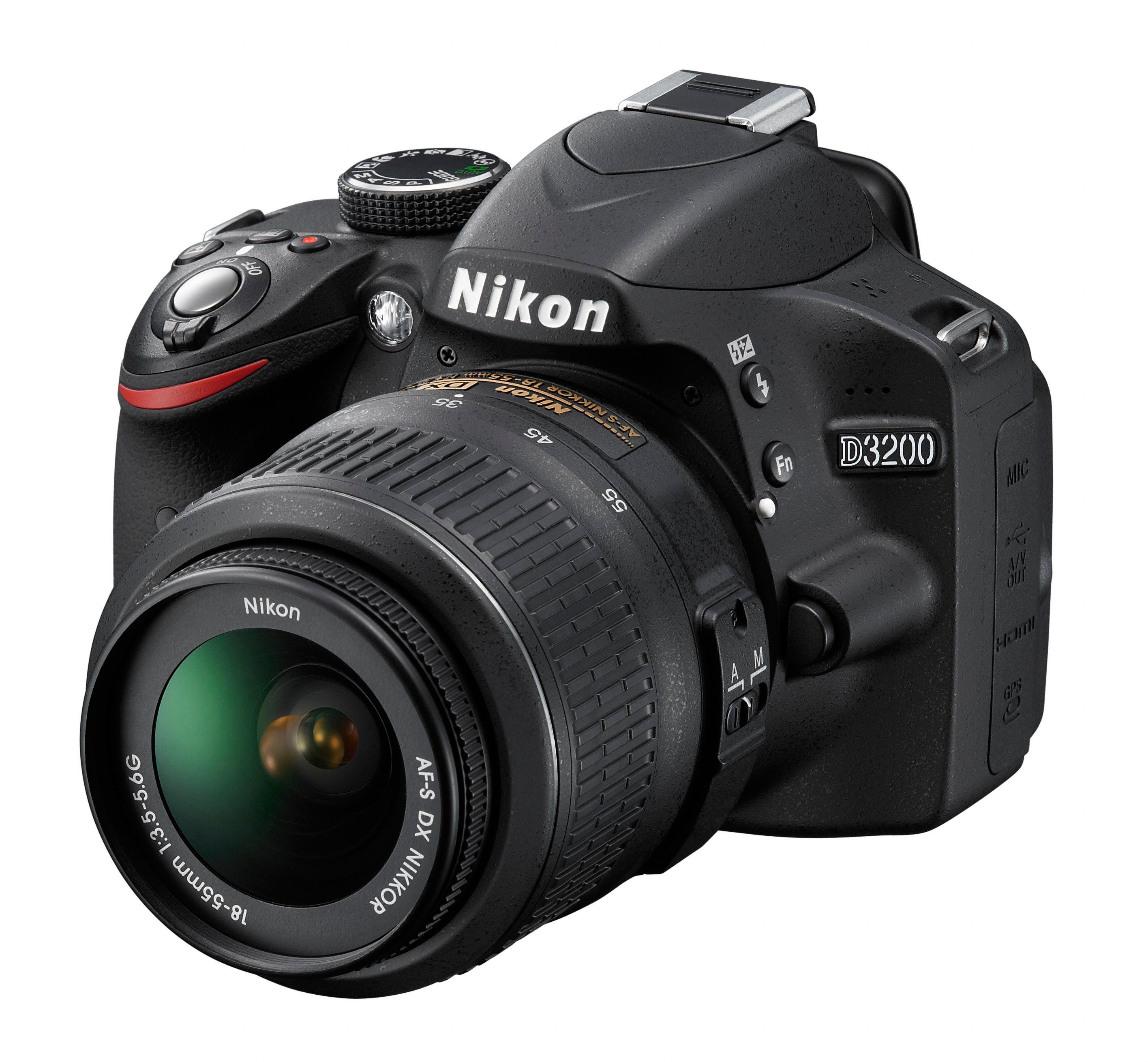 VBA330K002 : Nikon D3200 systemkamera m/18-55 mm
