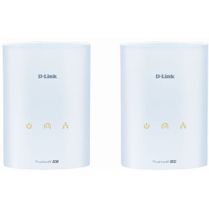 D-Link PowerLine AV 500 Starter Kit (Hvid)