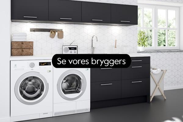 Med et veldesignet bryggers bliver tøjvasken let som en leg