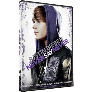 Justin Bieber  on Justin Bieber   Never Say Never  Dvd    Elgiganten