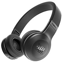 JBL E45BT on-ear hovedtelefoner - sort